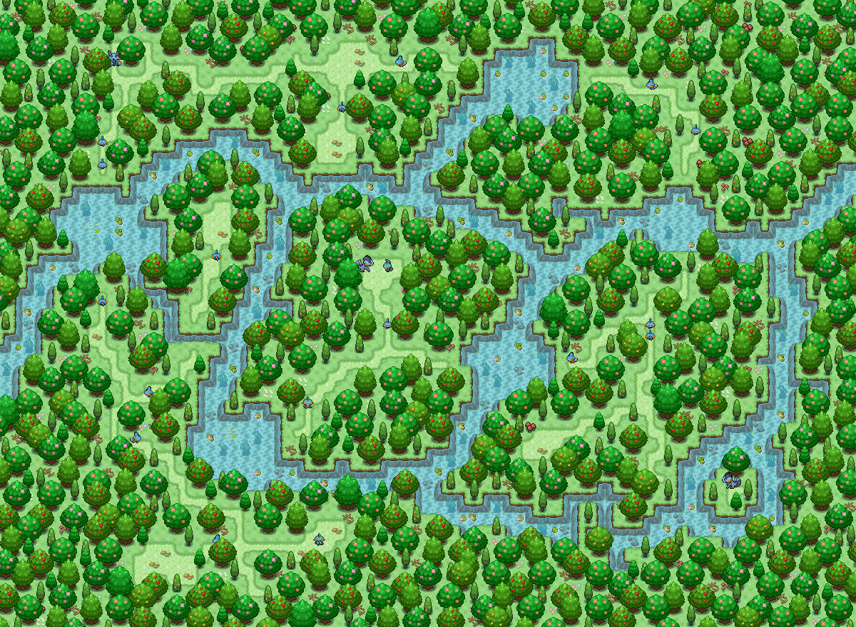 Pokémon-Map: Mudkip ^_^