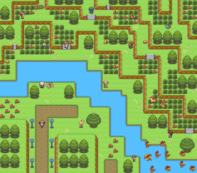 Pokémon-Map: Sowas wie ne Route