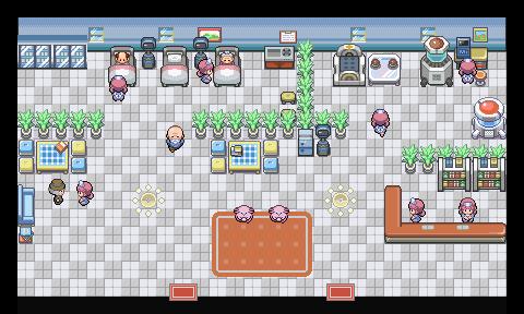 Pokémon-Map: Kleines Krankenhaus