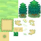 Pokémon-Tileset: Pokémon BW2 Tileset V1