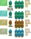 Pokémon 4 Seasons Tileset V1