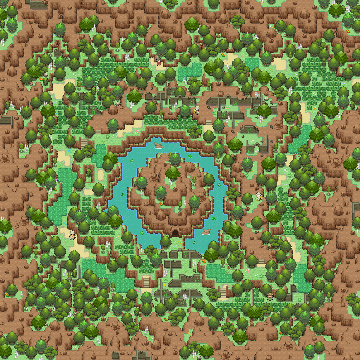 Pokémon-Map: Ruinental~:3