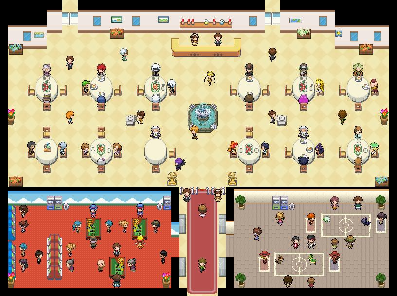 Pokémon-Map: V.I.P Restaurant