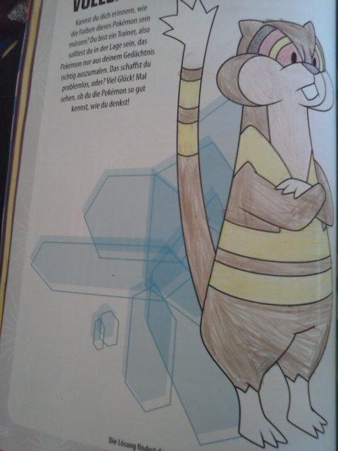 Pokémon-Zeichnung: Kukmarda