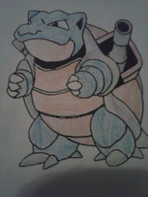Pokémon-Zeichnung: Turtok