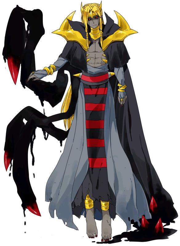 Pokémon-Zeichnung: Giratina Urform Gijinka
