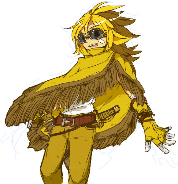 Pokémon-Zeichnung: Sandamer Gijinka