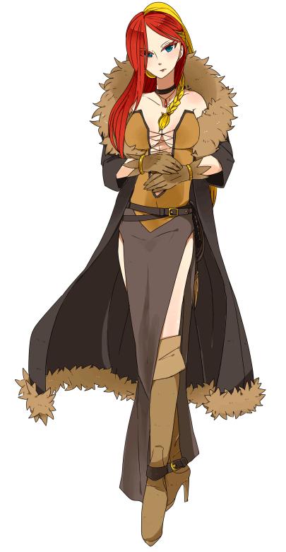Pokémon-Zeichnung: Pyroleo Gijinka - Noriko