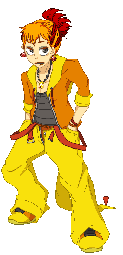 Pokémon-Pixelart: Irokex Gijinka - Tyler