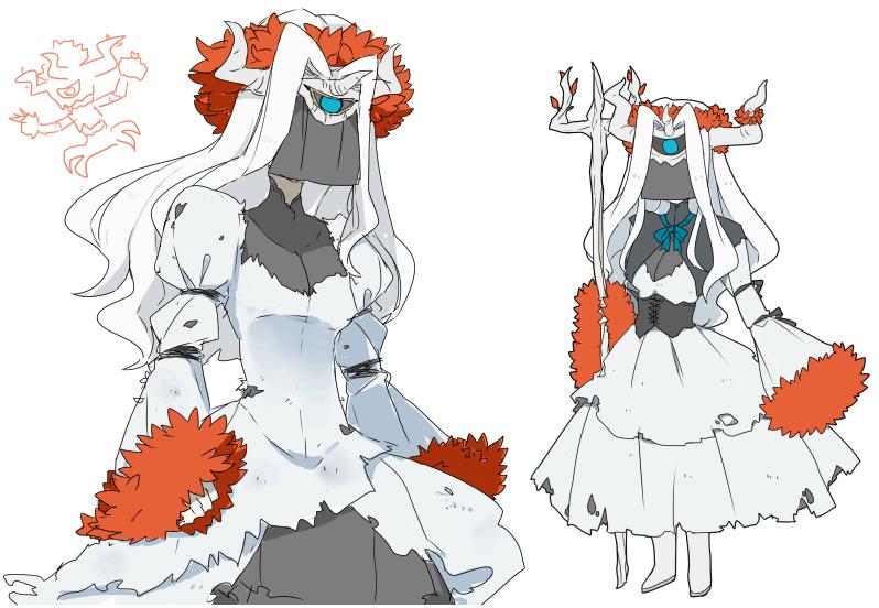 Pokémon-Zeichnung: Shiny Trombork Gijinka - Naoki