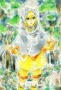 Elezard Gijinka (Shota) im Regen