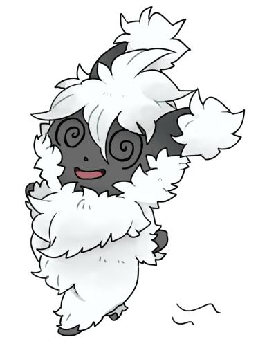 Pokémon-Zeichnung: Fluffball of Doom