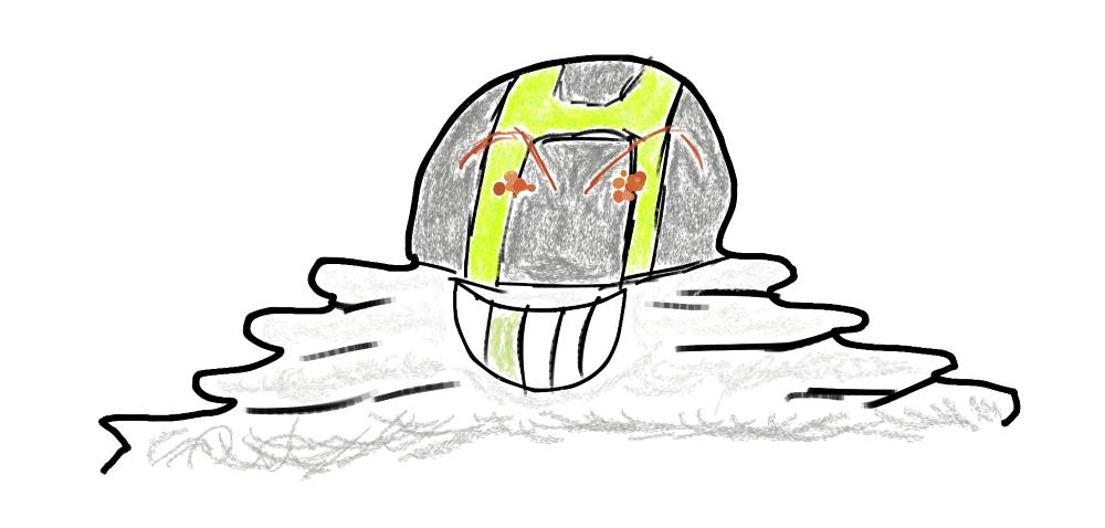 Pokémon-Zeichnung: Alola Slimebal xd