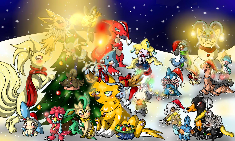 Pokémon-Zeichnung: A Pokefans Christmas