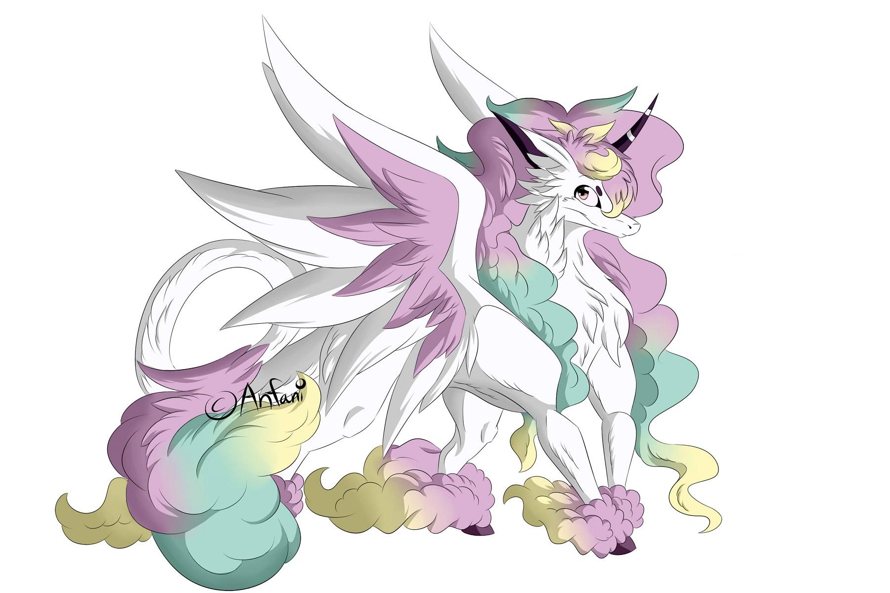 Pokémon-Zeichnung: Galar Gallopa