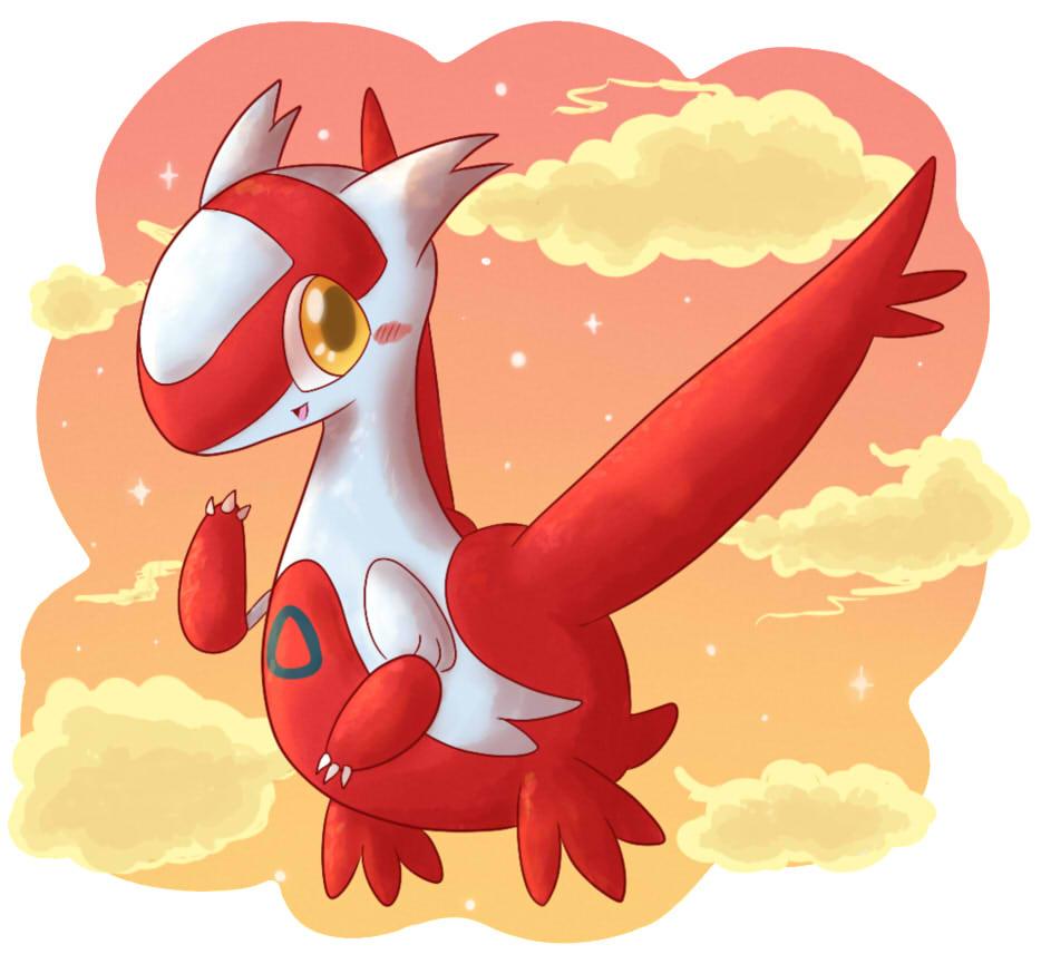 Pokémon-Zeichnung: Latias 2