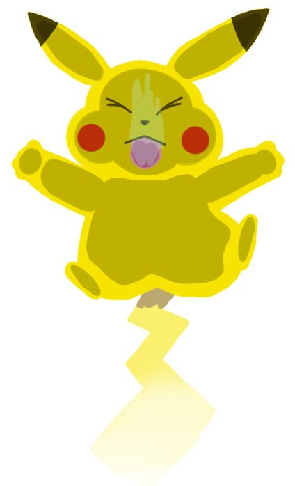 Pokémon-Fanart: Da ist was an der Scheibe :o