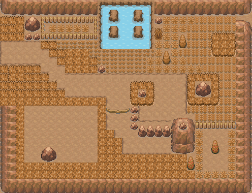 Pokémon-Map: Wüstengebirge