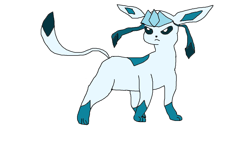 Pokémon-Zeichnung: Glaziola glänzt
