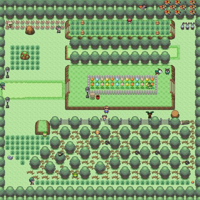 Pokémon-Map: Safari-Zone 1.0