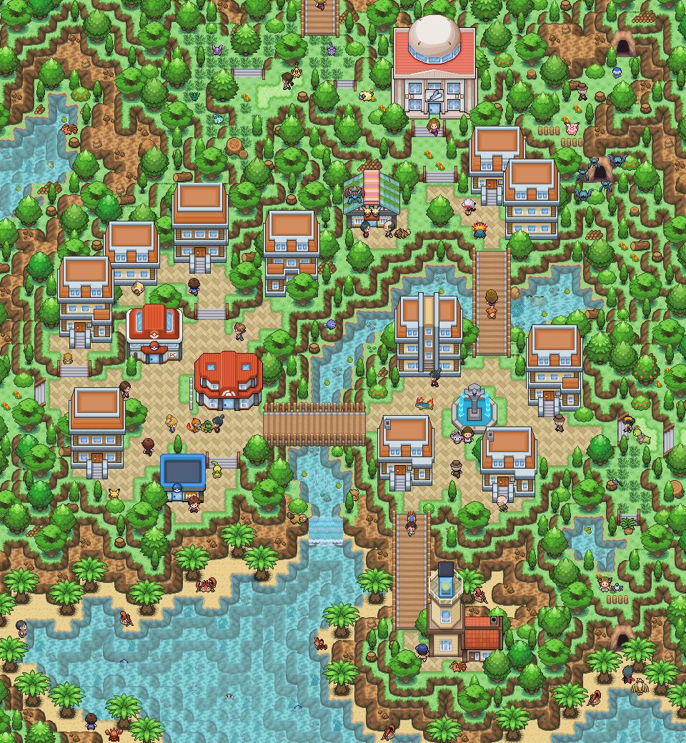 Pokémon-Map: 100.Fanart Wuhu ^~^