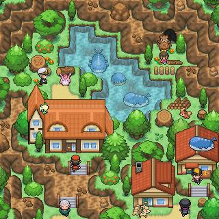 Pokémon-Map: Wailord-Party für Tobi ft. Ursaring