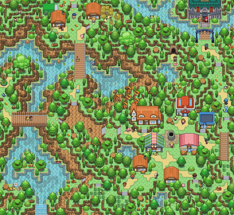Pokémon-Map: Naturmap als Mapping-Comeback