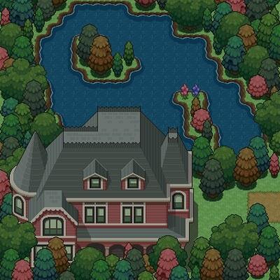 Pokémon-Map: Kleiner Nacht-See