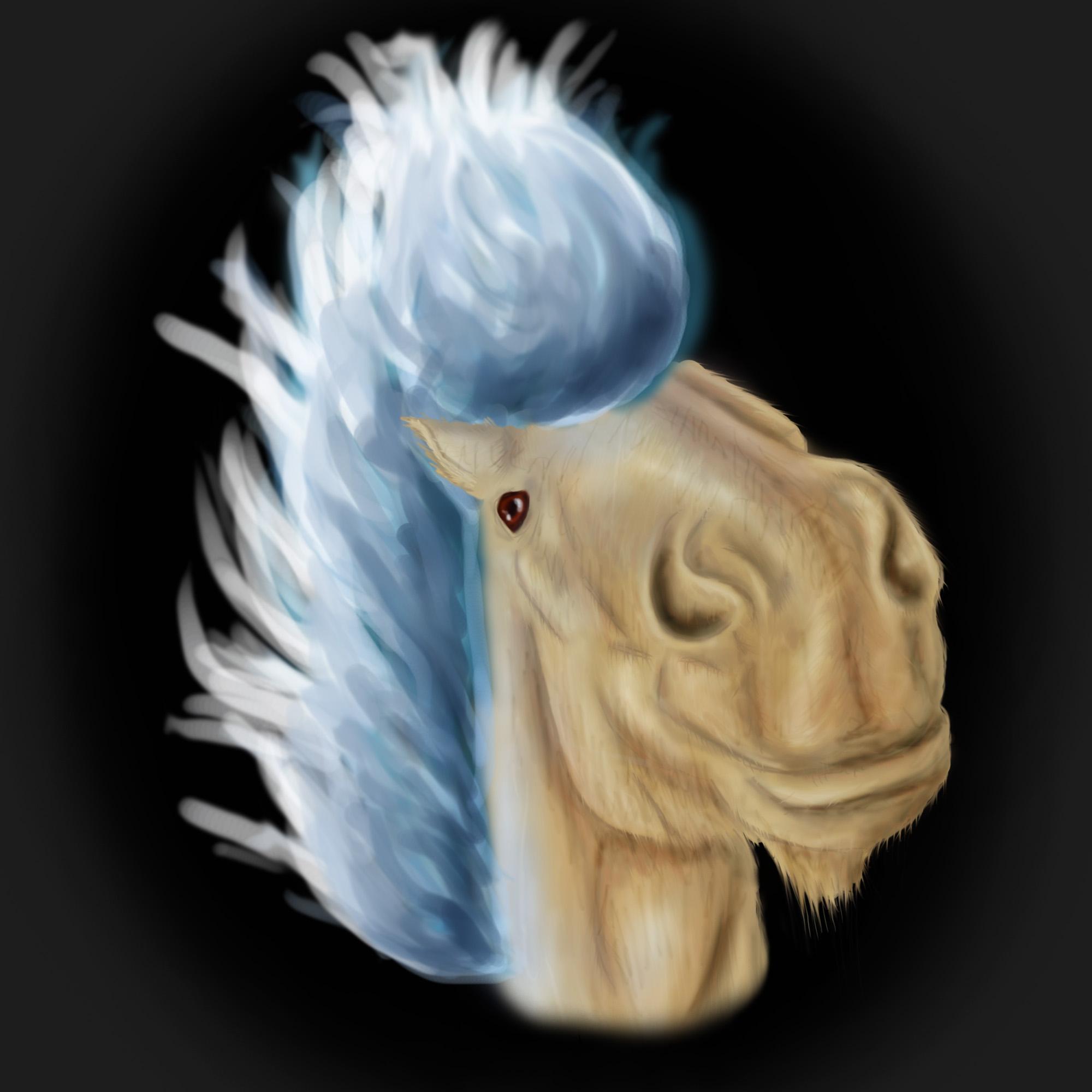 Pokémon-Zeichnung: Shiny Ponita