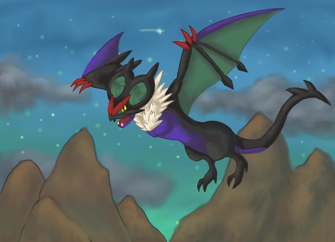 Pokémon-Zeichnung: UHaFnir Zeichnung