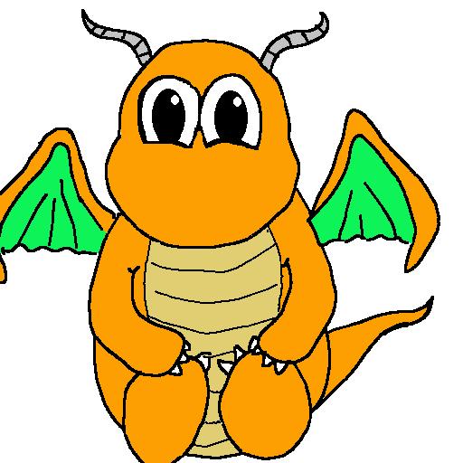 Pokémon-Zeichnung: Baby Dragoran