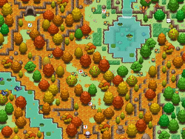 Pokémon-Map: Lebensraum Vertilas