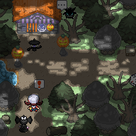 Pokémon-Map: Minimap Halloween