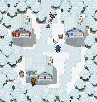 Pokémon-Map: Wurzelheim Remake Winter