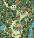 Dorf in der Natur Wb #38