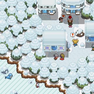 Pokémon-Map: Adventskalender-Weihnachtsdorf