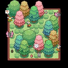 Pokémon-Map: Ostern-Minitendo