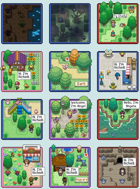 Pokémon-Map: Special Icon Commissions #2