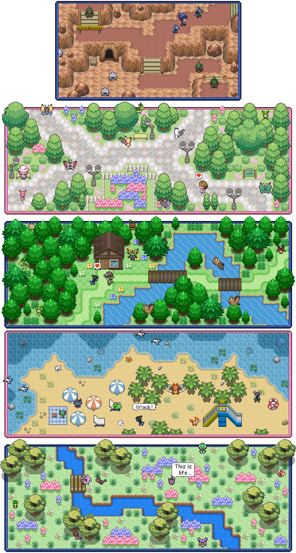 Pokémon-Map: Special Signature Commissions #1