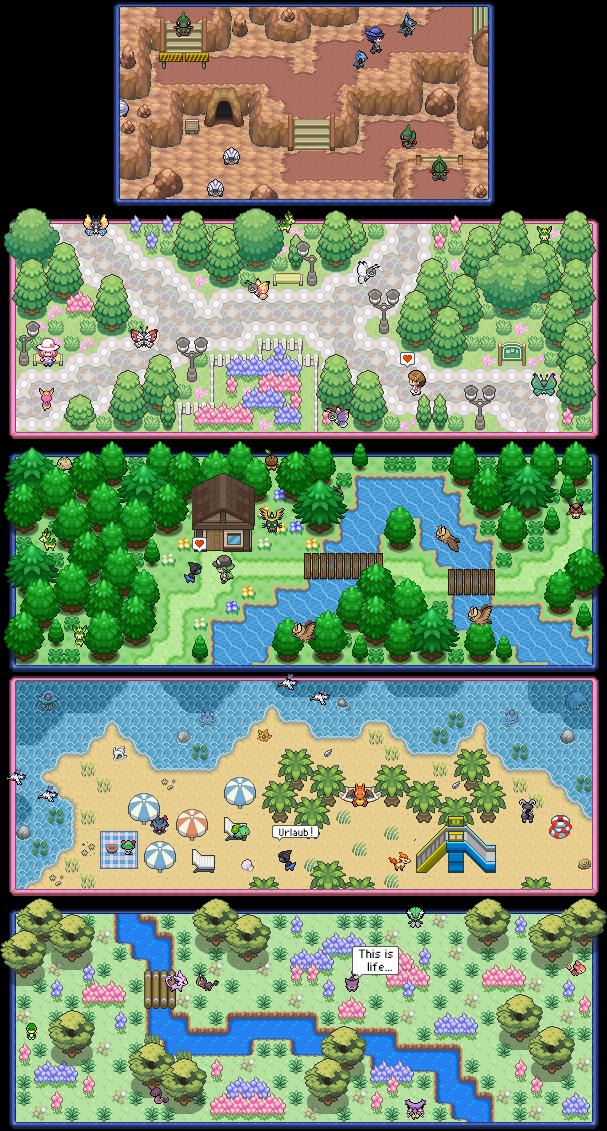 Pokémon-Map: Special Signature Commissions #1