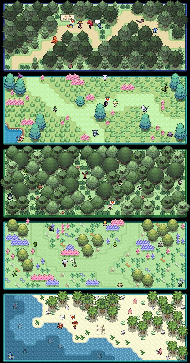 Pokémon-Map: Special Signature Commissions #2