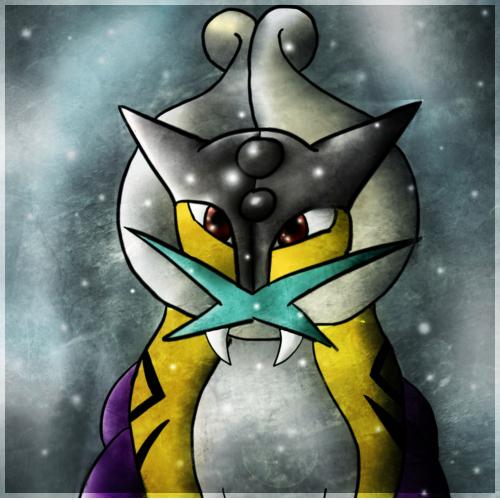 Pokémon-Zeichnung: Es schneit