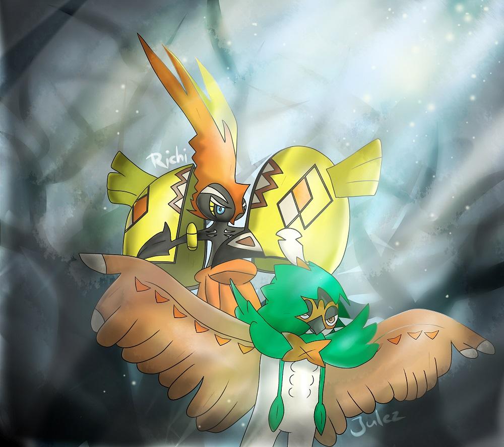Pokémon-Zeichnung: Bildtitel