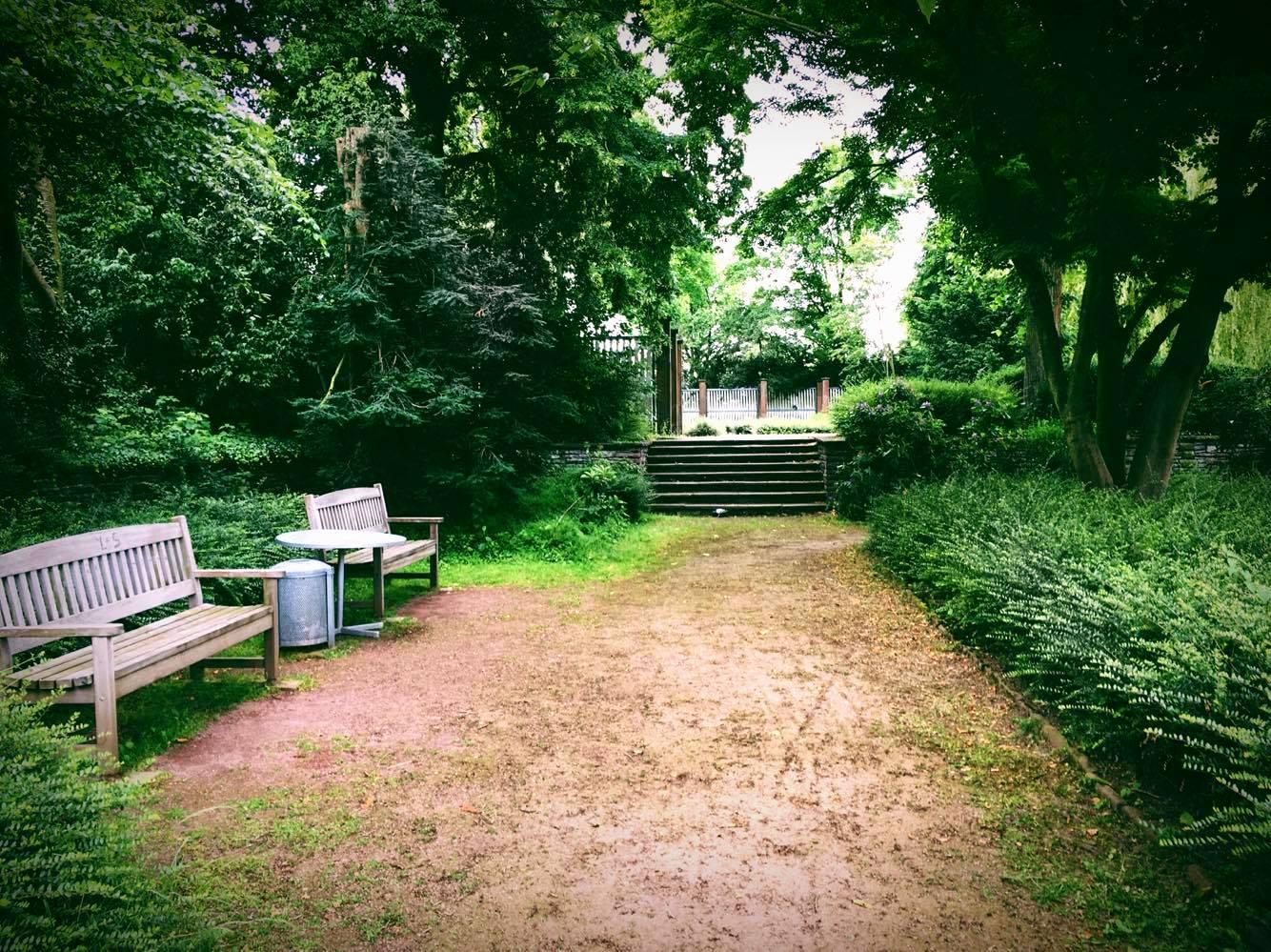Foto: Einsame Treppe