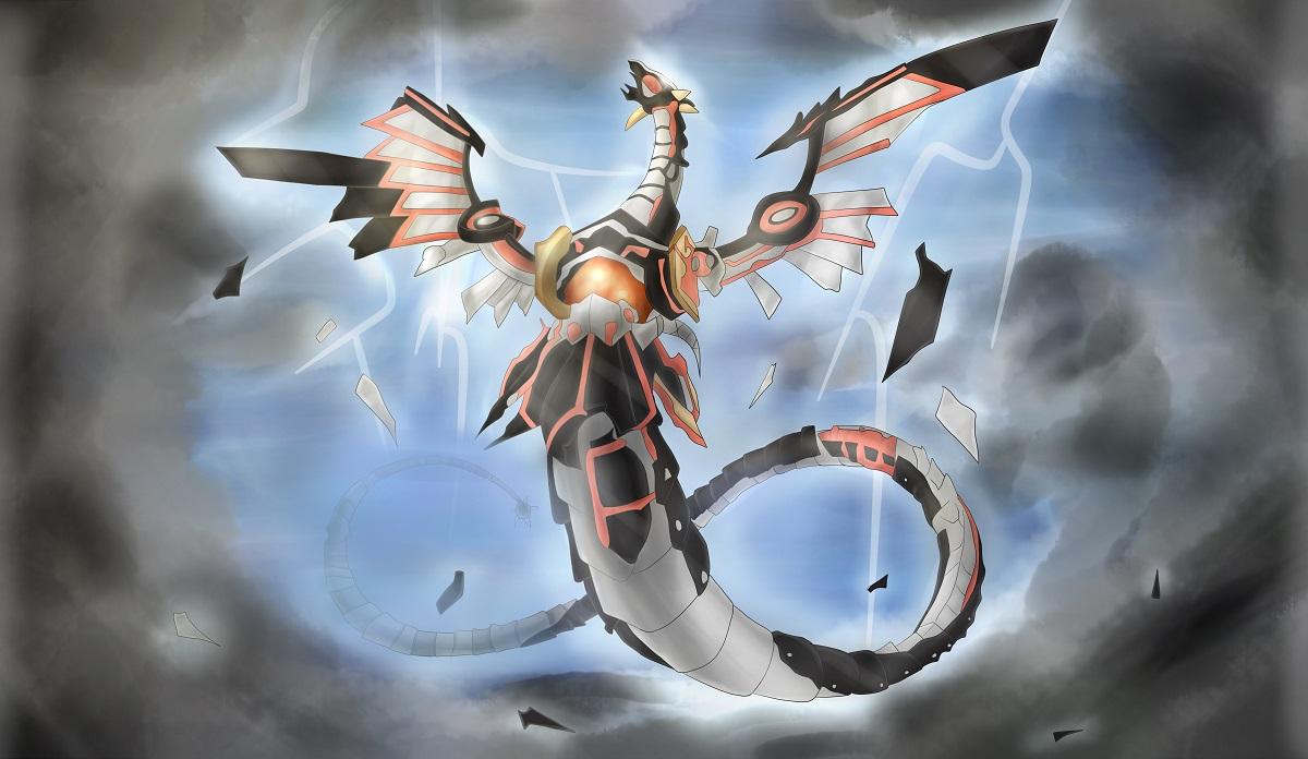 Pokémon-Zeichnung: Infinite Dragon