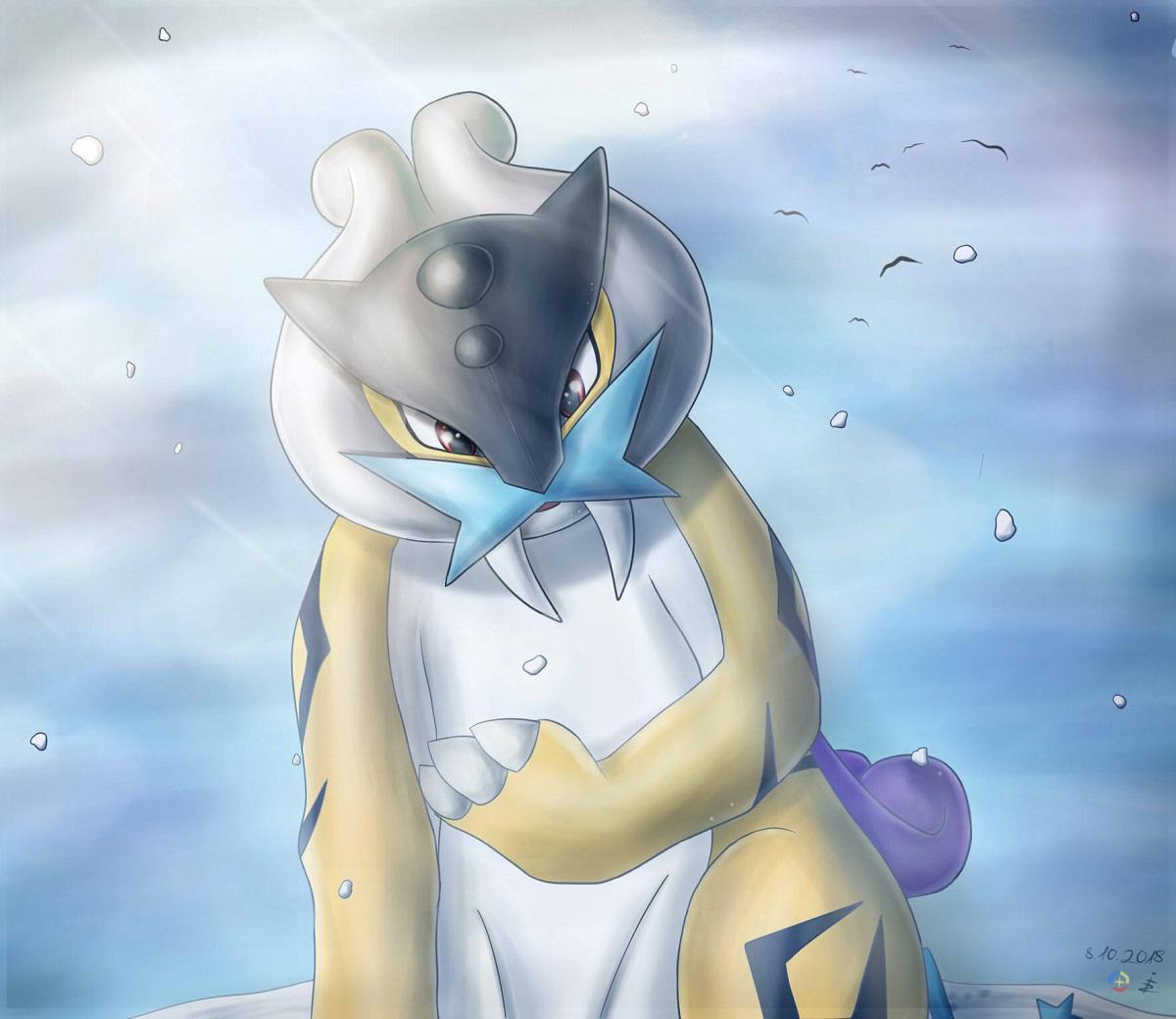 Pokémon-Zeichnung: Es schneit 2.0
