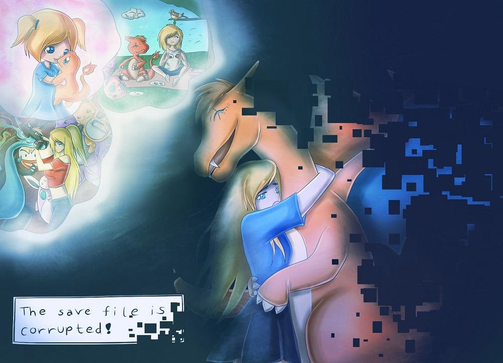 Pokémon-Zeichnung: Thank You and Farewell.