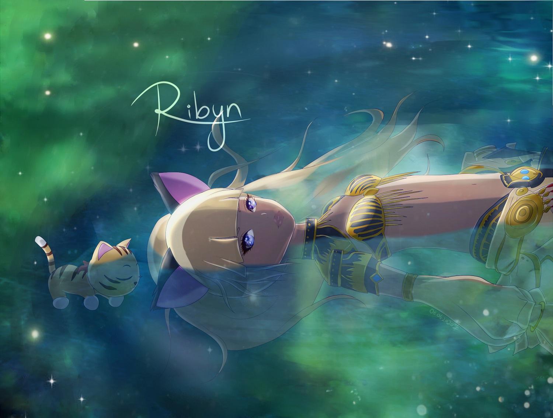 Pokémon-Zeichnung: Ribyn