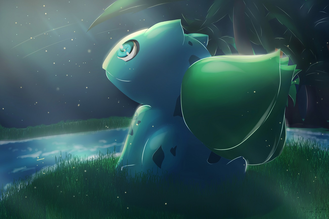 Pokémon-Zeichnung: Bisasami