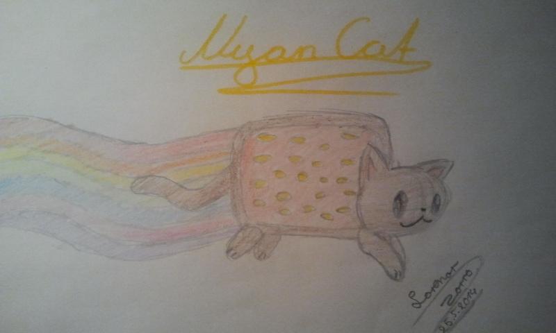Pokémon-Zeichnung: Nyan Cat